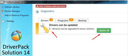 Cara download install driver pack solutions