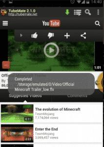 Tubemate Youtube Downloader