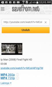 Download video di youtube tanpa aplikasi