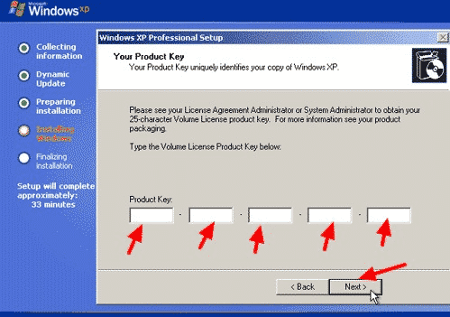 Cara Install Ulang Windows XP