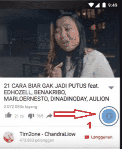 Cara menyimpan video di youtube