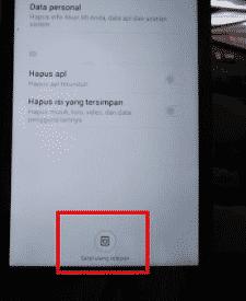 Tutorial Cara Hard Reset Xiaomi