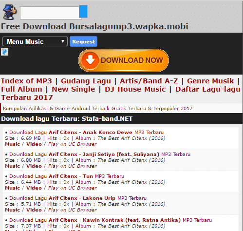17 Situs Download Lagu Gratis Terpopuler