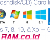 (Dengan Flashdisk/CD) Cara Instal Ulang Windows 7, 8, 10, & Xp + Gambar