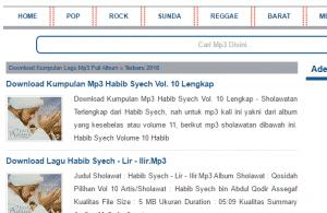 Situs Download Lagu Gratis Terpopuler