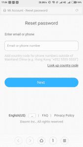 Cara Mengatasi Lupa Password Akun Xiaomi Dengan Mudah