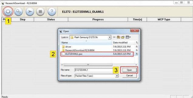 Cara Flash Samsung E1272 Via Research Download