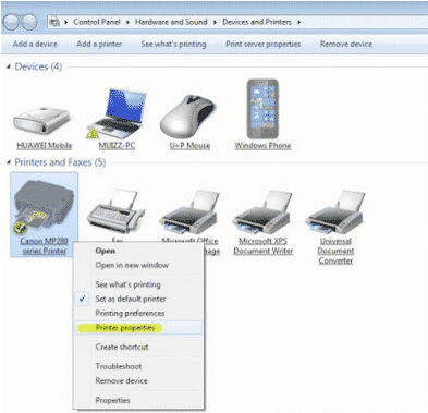 Cara Sharing Printer Dengan Cepat di Windows XP 7,8 & 10 lewat LAN/Wifi