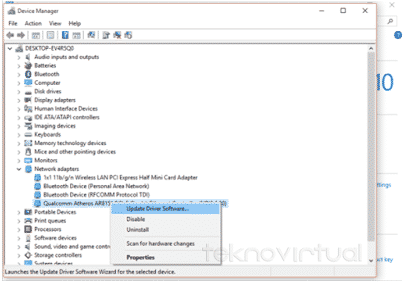 Cara Update Driver Secara Manual Windows 7, 8, 8.1, 10, XP
